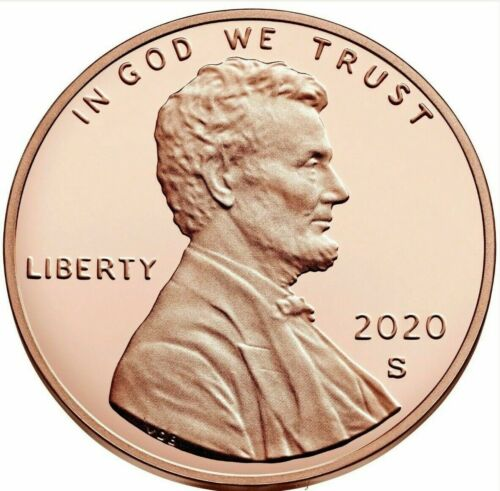 2020 S Lincoln Cent Shield Proofs  from complete Clad Proof Set