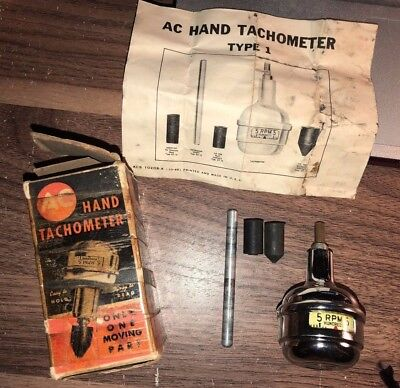 Vintage Original Auto Parts Engine Tester Old Rare Part