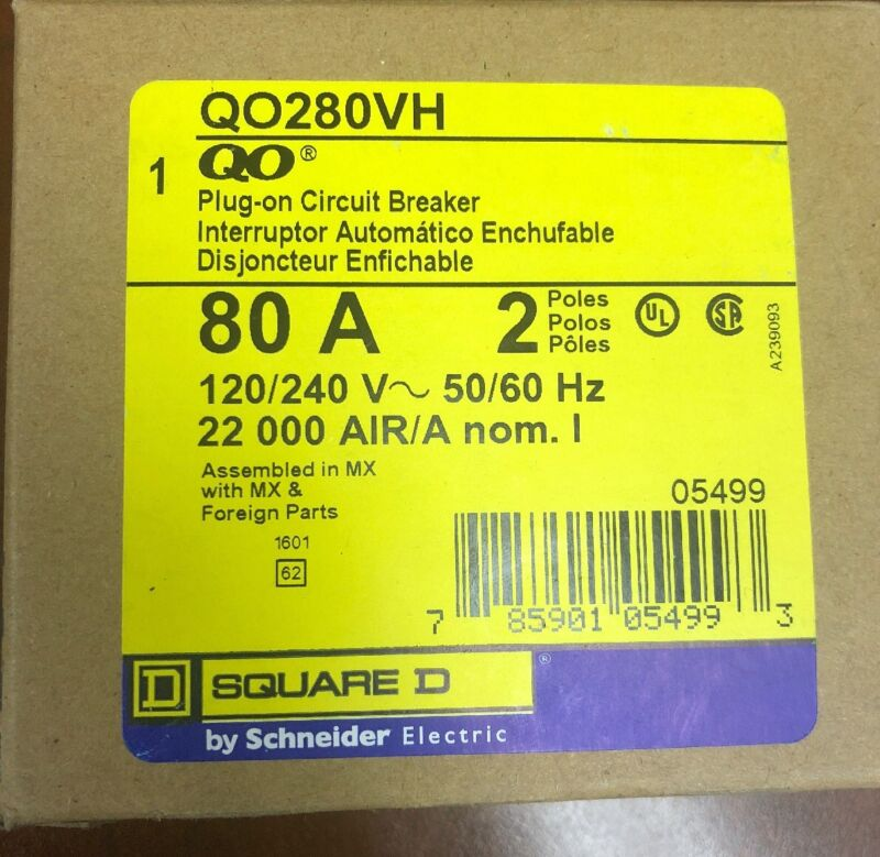 Square D QO280VH Industrial Control System
