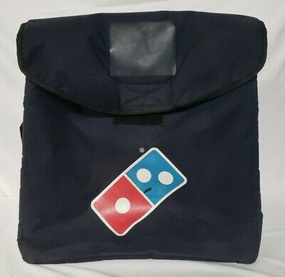 Authentic Large Dominos Pizza Insulated Thermal Heat Wave Delivery Bag