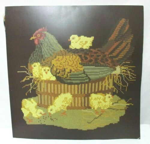 Elizabeth Bradley The Mother Hen Needlepoint Kit NEW 20 x 20