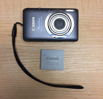 Canon PowerShot ELPH 100 HS / IXUS 115 HS 12.1MP Digital Camera - Gray Silver