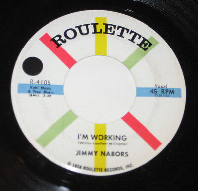 Jim Nabors 7  45 Hear Rock N Roll Rockabilly Im Working Roulette Theres No