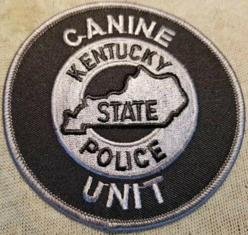 KY Kentucky State Police Canine Unit Patch