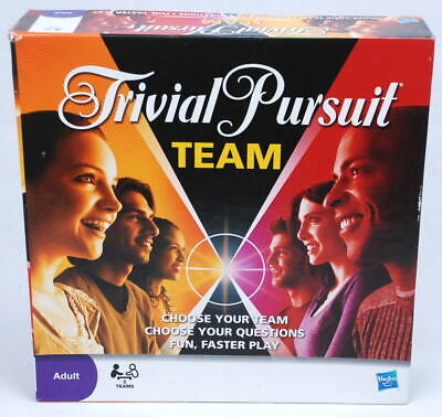 Trivial Pursuit Team Adult Party Group Couple Board Game Entertainment Night New](Group Party Games)