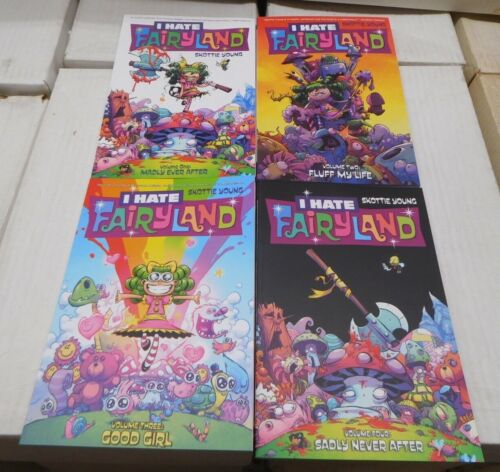 I Hate Fairyland  1 2 3 4 Skottie Young Image Graphic Novel TPB Set Comics 1-20