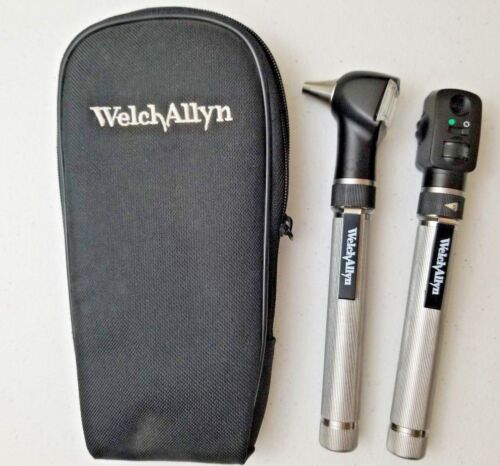 Welch Allyn 2.5V Pocketscope Diagnostic Set - Otoscope / Ophthalmoscope w/ case