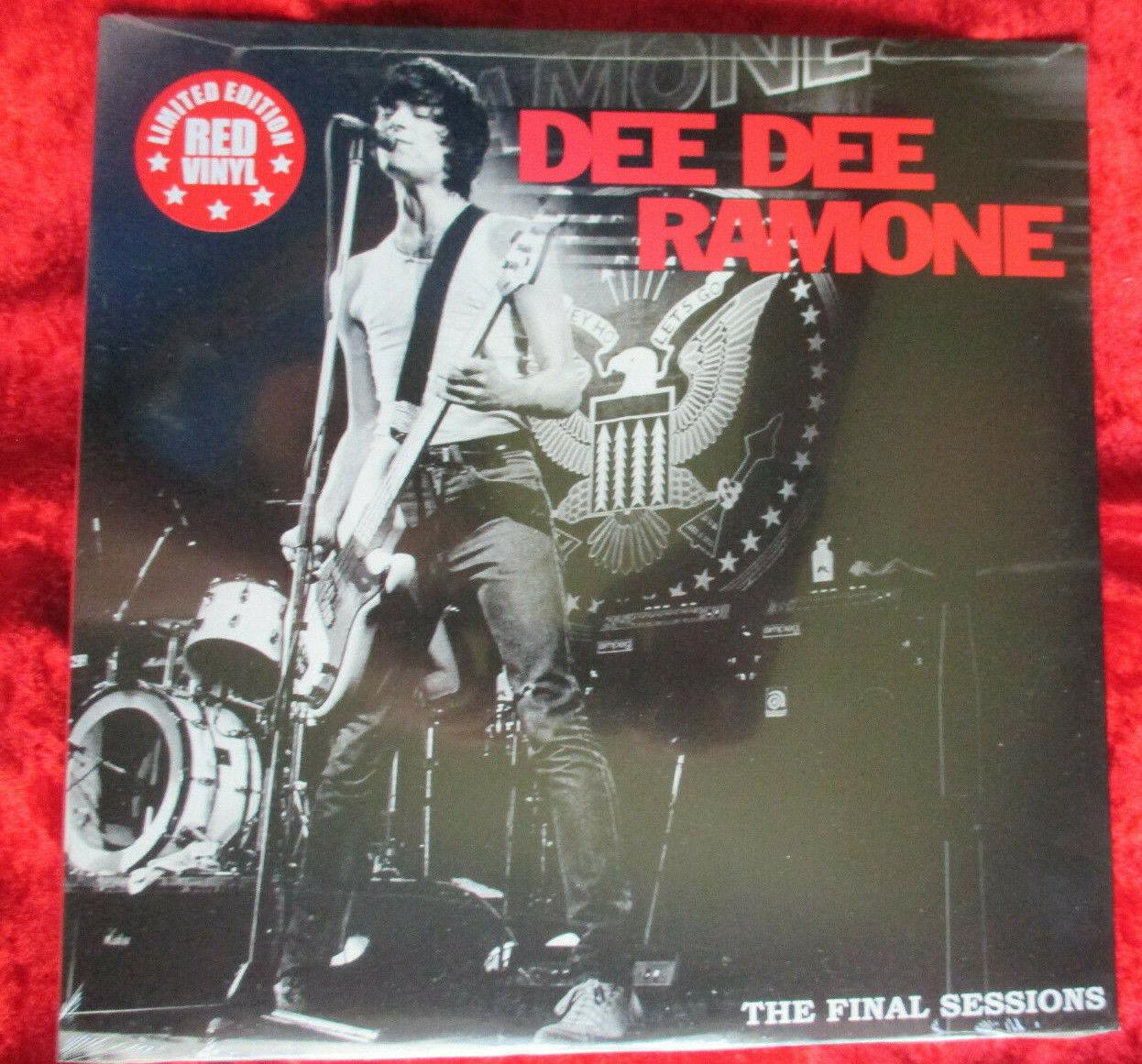 "Dee Dee Ramone - The Final Sessions  (2015) USA 12"" RED VINYL  OVP > Ramones"