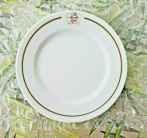 """D.M.& I.R. Railway """" THE MISSABE ROAD CAR NORTHLAND 10.5"""" PLATE SYRACUSE CHINA"""
