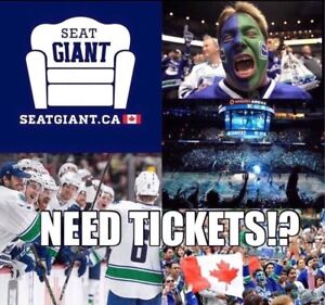 VANCOUVER CANUCKS TICKETS TONIGHT FROM $62 CAD!