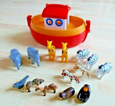 Playmobil Noahs Ark boat & 14 ANIMALS