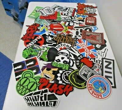Various Band Stickers - Rock Music - Stones, Beatles and More (N1) Restocked