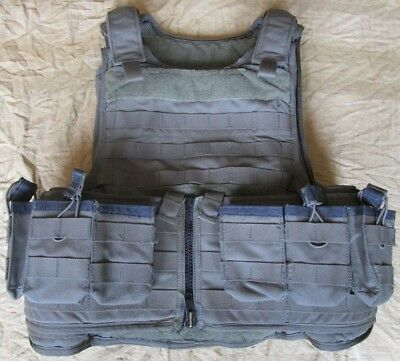 GENUINE US RANGER GREEN DIAMONDBACK TACTICAL RBVP VEST WITH 3A SOFT ARMOUR. L.