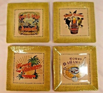 Tropical Plates (Set of 4 Tommy Bahama 6