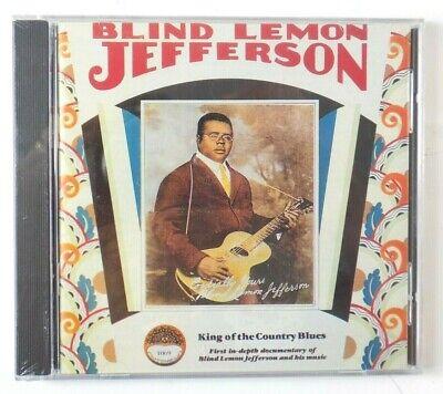 Blind Lemon Jefferson King of the Country Blues CD Yazoo