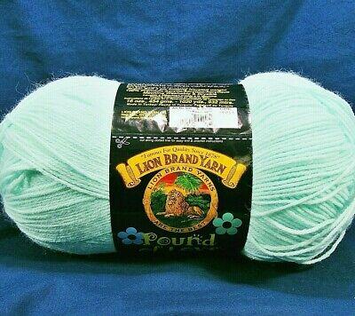 Lion Brand Pound of Love 'Pastel Green' Super Soft 4-Ply Knit,Crochet Baby Yarn Baby Soft Yarn Pastel