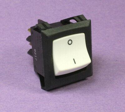 5PCS KCD3-3-101N Illuminated 220V ON//Off SPST Rocker Switch Single Pole Single Throw 2 Position 20A 125VAC with LED Light,Orange