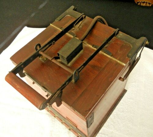 Vintage Wooden Photography Contact Printer Collector