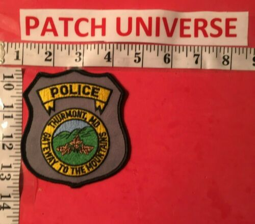 THURMONT  MD  POLICE  GATEWAY TO THE MOUNTAINS  SHOULDER PATCH  J014