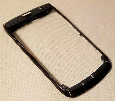Black Blackberry Faceplates - New Blackberry OEM Front Faceplate Bezel Frame Housing for BOLD 9700 9780  BLACK