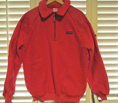Vtg Helly Hansen Men's Softpile Lightweight Half Zip Fleece Pullover Jacket Sz L