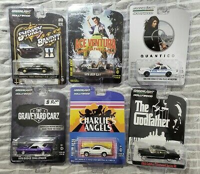 Greenlight Lot of 6 Miscellaneous Cars *MIB* #5