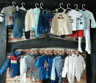 "Baby Boys clothes bundle 12-18 months "" little bit of this & that "" John Lewis"