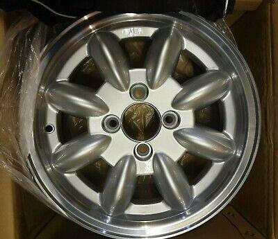 x4 JBW 5x13 Minilight alloy wheels SILVER **NEW** triumph spitfire herald GT6