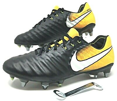 f944126c714 Nike Tiempo Legend VII Elite SG-PRO Sz 7 Soccer Cleats Black Orange  (897753-009)