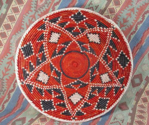 Southwestern Style Basket   Double Star Basket  over 13 inches