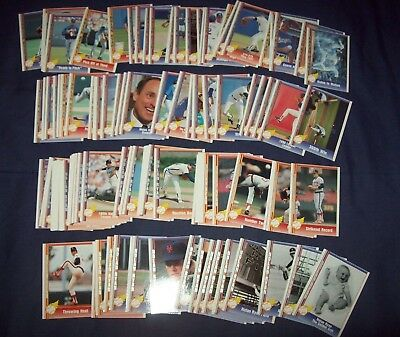1991 Pacific 110 Card Nolan Ryan Set