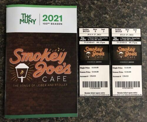 THE MUNY St Louis 103rd Season Smokey Joe