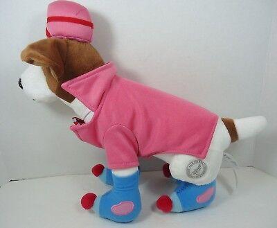 Disney Santa Paws Eddy Elf Pup Plush Dog 13