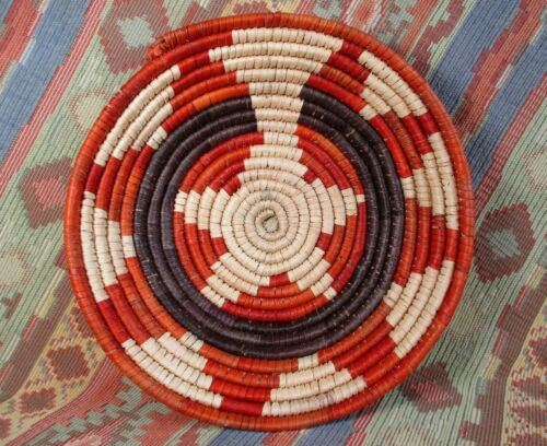 Southwestern Style Basket   Medium Size Basket  grouping or alone  over 8 inches