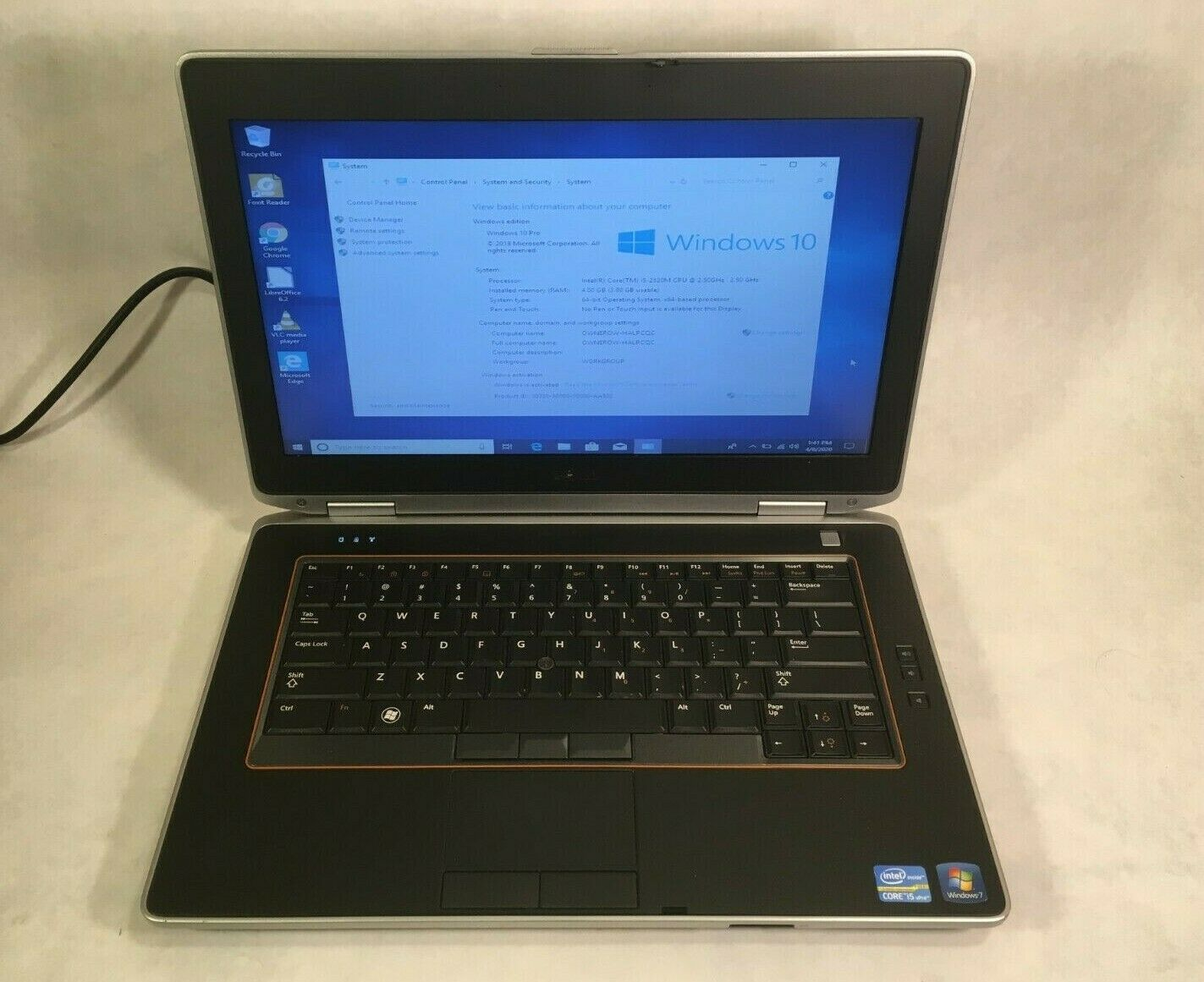 "Laptop Windows - Dell Latitude 14"" E5420 Laptop Intel Core i3 2.4GHz 4GB - 250GB HDD Windows 10"