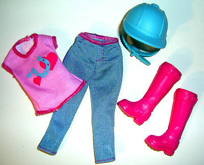 %***Barbie Reitkleidung für Stacie****%