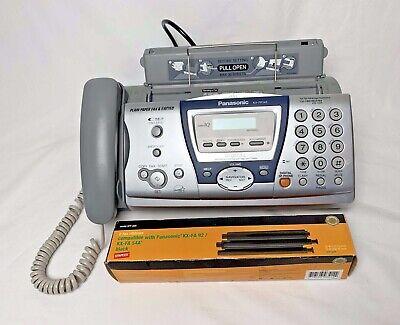 Panasonic Kx-fp145 Slim-design Bw Fax Machine With Answering System Fax Ribbon