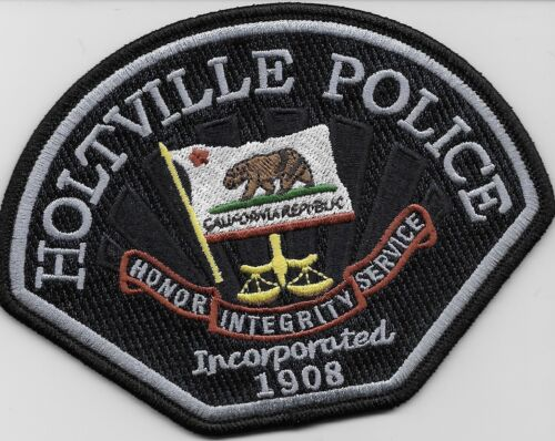 Holtville Police State California CA