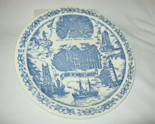 🎈Vernon Kilns Blue Collector
