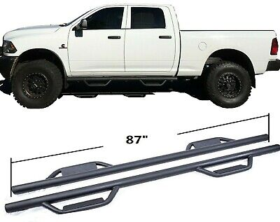 For 09-18 Dodge Ram 1500/2500/3500 Crew Cab Dropped Side Step Nerf Bar Run