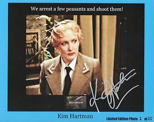 KIM-HARTMAN-Signed-10x8-Photo-HELGA-In-ALLO-ALLO-COA