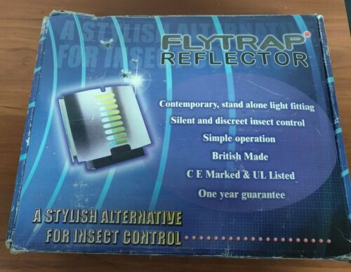 "FLYTRAP REFLECTOR"" FOR INSECT CONTROL  LIGHT TRAPS & BULB"