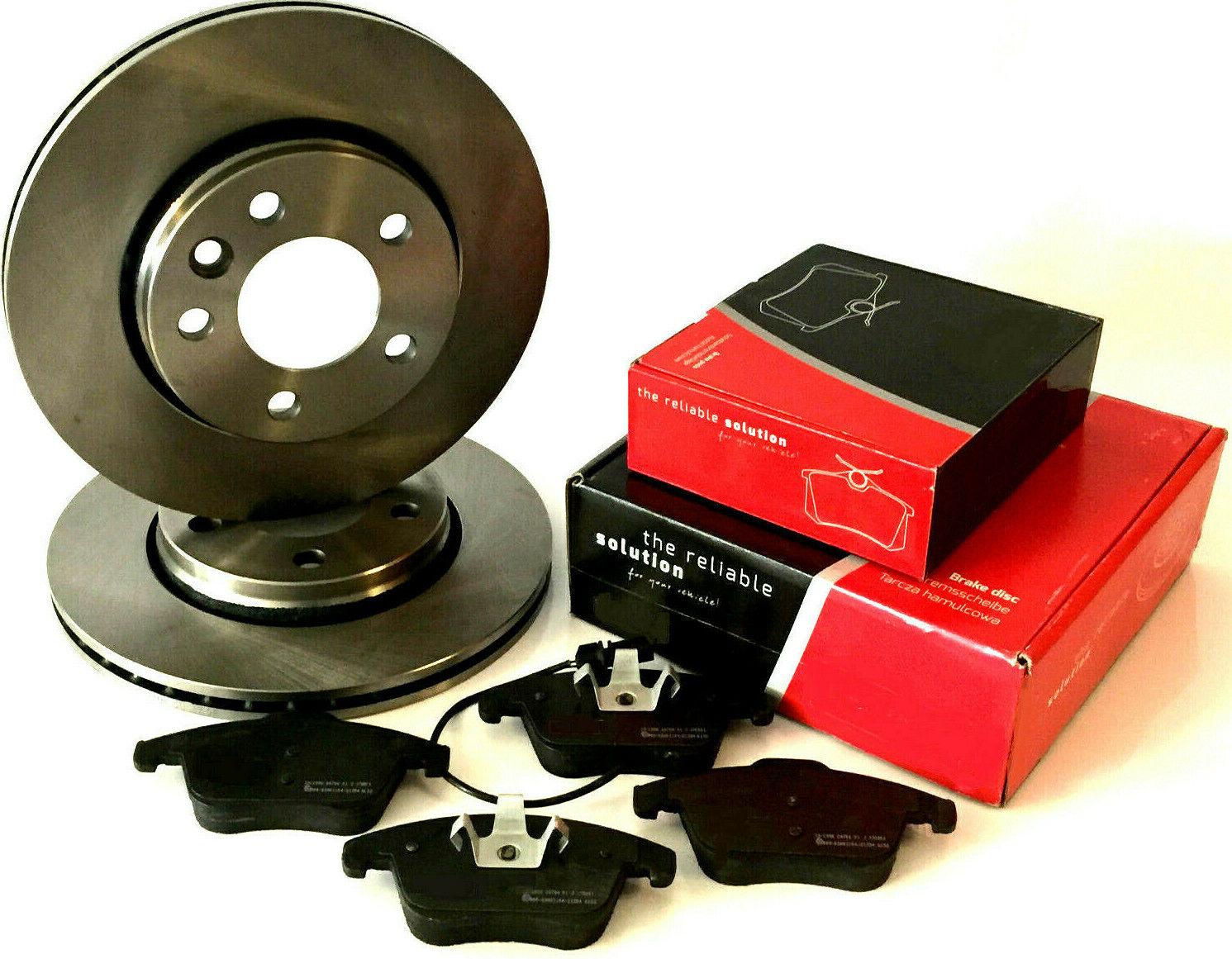 4x Beläge vorne Vorderachse VW PASSAT 3C2 2.0 TDI Bremsen SET 2x Bremsscheiben