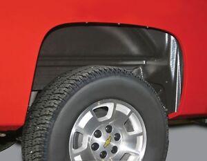 Rugged Liner inner Wheel Well Fender Liners Rear  For 07-13 Silverado 1500