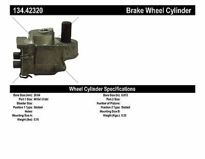 Premium Wheel Cylinder-Preferred fits 1967-1972 Nissan 521 Pickup 520 Pickup  CE