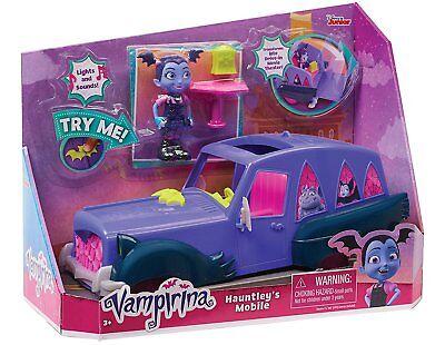 Offiziell Disney Store Junior Vampirina Hauntleys Mobil Auto Figur & (Tinkerbell Auto Zubehör)