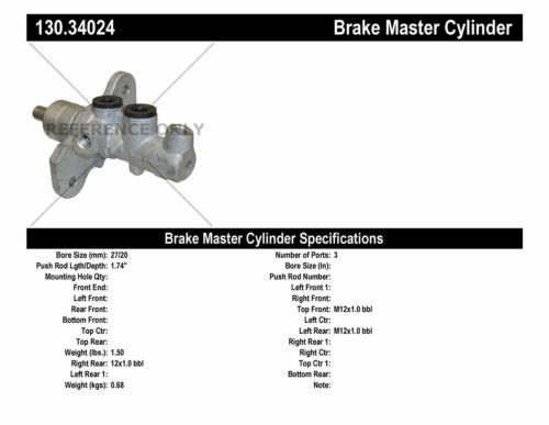 Premium Master Cylinder Preferred fits 2004-2007 Toyota Highlander  CENTRIC PA