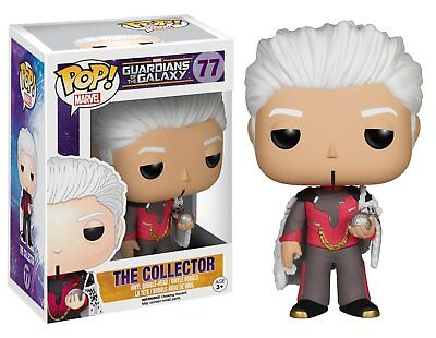 Guardians of The Galaxy THE COLLECTOR Funko Pop Vinyl Action Figure Toy New MINT