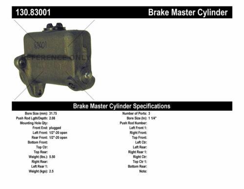 Preferred Centric 130.83001 Brake Master Cylinder-Premium Master Cylinder
