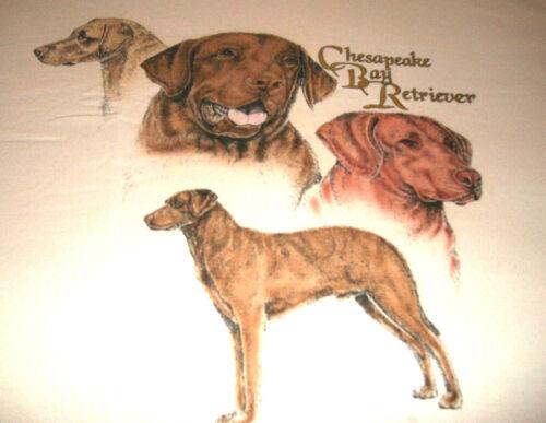 "Chesapeake Bay Retriever T-shirt  "" Natural "" LG ( 42 - 44 )"